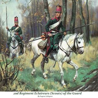 Eclaireur Dragon 2ème régiment Jeune Garde 1814.MM54mm. 341ddb11