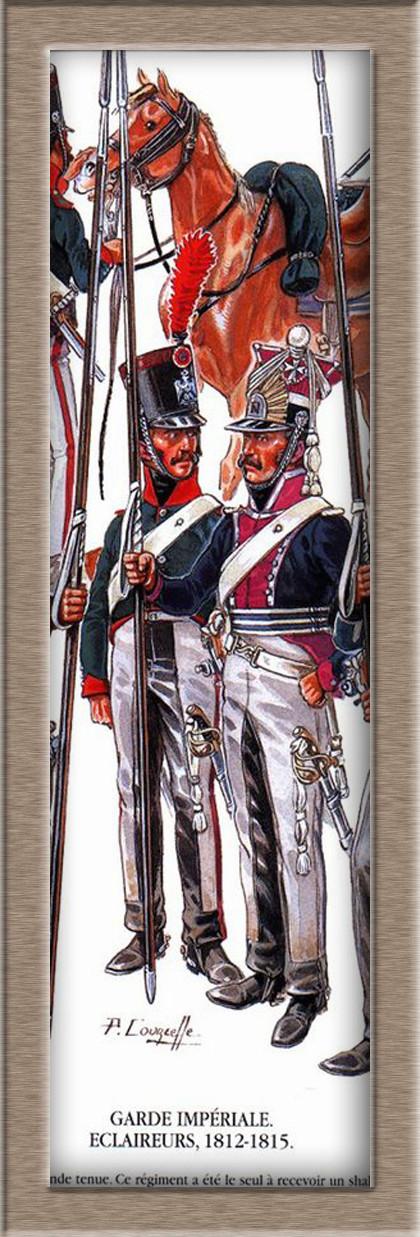 2claireur Lancier du 3e régiment Garde Impériale 1813  458be411