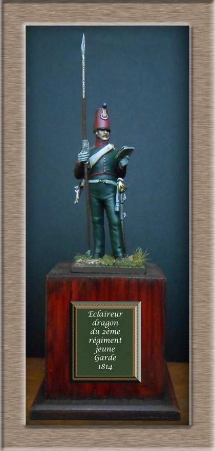 Eclaireur Dragon 2ème régiment Jeune Garde 1814.MM54mm. Dscn5417