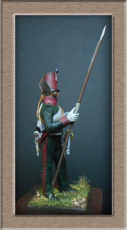 Eclaireur Dragon 2ème régiment Jeune Garde 1814.MM54mm. Dscn5419