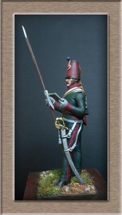Eclaireur Dragon 2ème régiment Jeune Garde 1814.MM54mm. Dscn5420