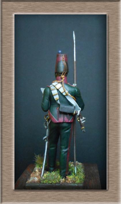 Eclaireur Dragon 2ème régiment Jeune Garde 1814.MM54mm. Dscn5422