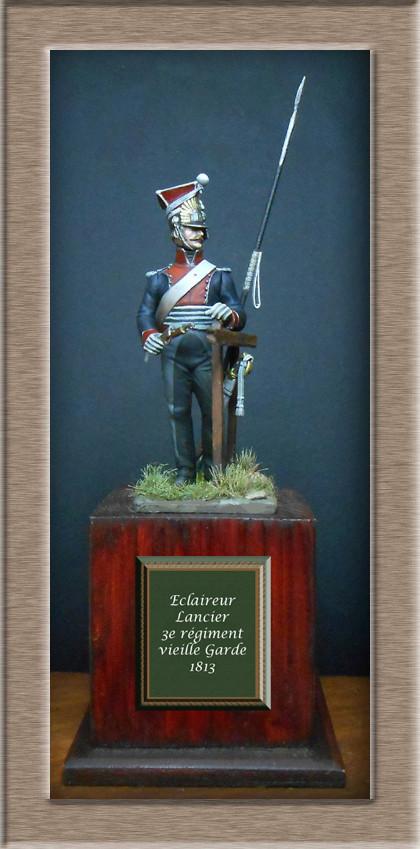 2claireur Lancier du 3e régiment Garde Impériale 1813  Dscn5616