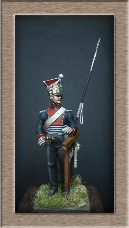 2claireur Lancier du 3e régiment Garde Impériale 1813  Dscn5617