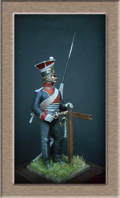 2claireur Lancier du 3e régiment Garde Impériale 1813  Dscn5618