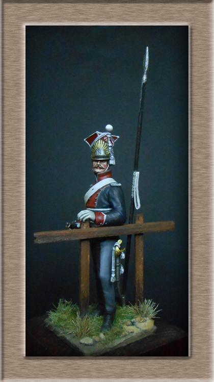 2claireur Lancier du 3e régiment Garde Impériale 1813  Dscn5619