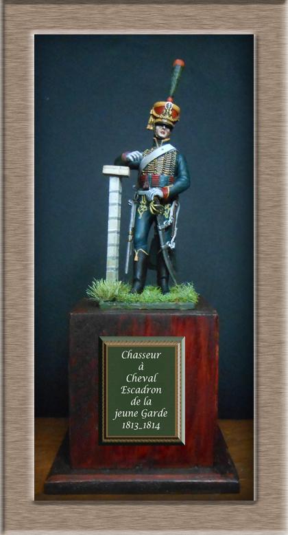 Chasseur à Cheval escadron jeune Garde 1813-1814 Dscn5627