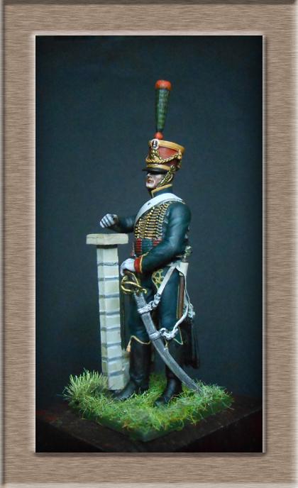 Chasseur à Cheval escadron jeune Garde 1813-1814 Dscn5715
