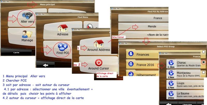 """Hors sujet"" - POI pour iGO et/ou Primo et navigation ""Routable"" Gerer_10"