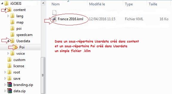 """""""Hors sujet"""" - POI pour iGO et/ou Primo et navigation """"Routable"""" Igo8pc10"""