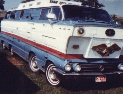 The homemade motorhome made from two 1962 Buick station wagons Shamro11