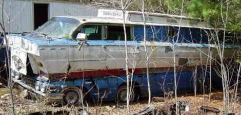 The homemade motorhome made from two 1962 Buick station wagons Shamro12