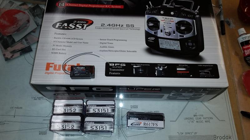 Futaba RC gear for $150 shipped 20160644