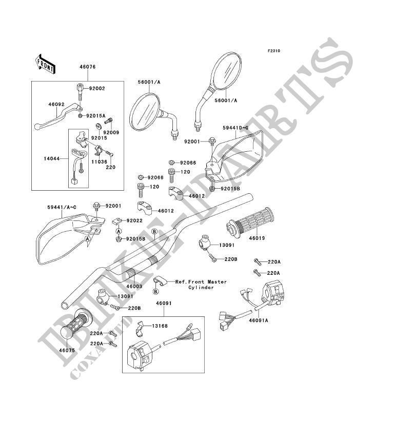 KLR 650 B / TENGAI - URGENT pièce introuvable F_0810