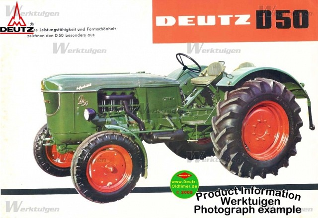 Traktori Deutz Fahr opća tema  Deutz-23