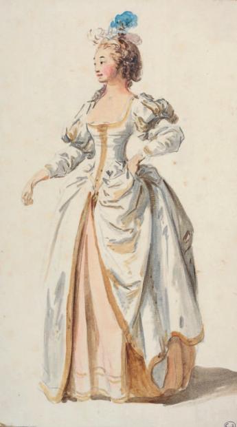 Costumes de ballet au XVIIIe siècle 1310