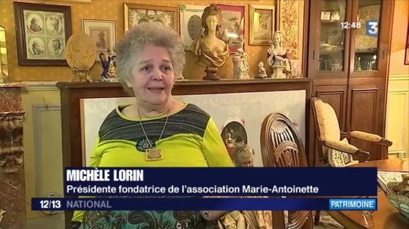 """Fenêtre sur """"Le petit Trianon de Versailles : royaume secret de Marie-Antoinette"""" Im710"""