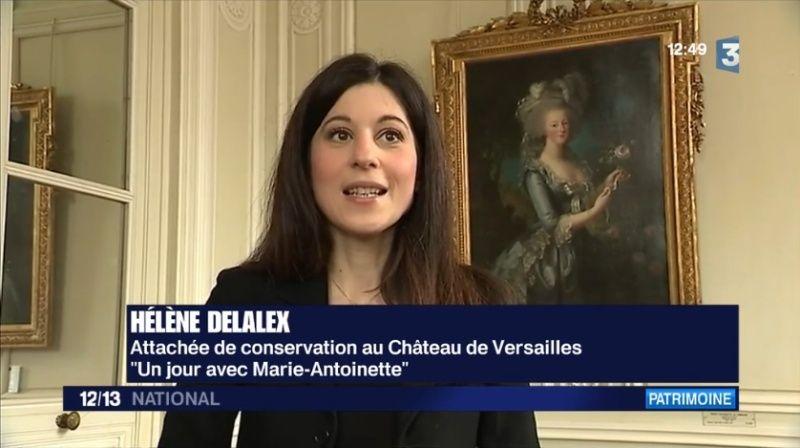 """Fenêtre sur """"Le petit Trianon de Versailles : royaume secret de Marie-Antoinette"""" Im810"""