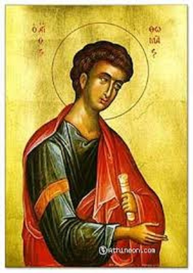 """""""  Présentation des Disciples de Jésus : Oeuvre de Maria Valtorta """" Thomas10"""
