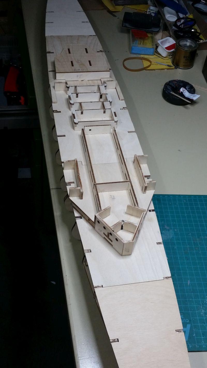 HMS HOOD 1:200 von Hachette gebaut von arrowsmodell - Seite 3 20160514