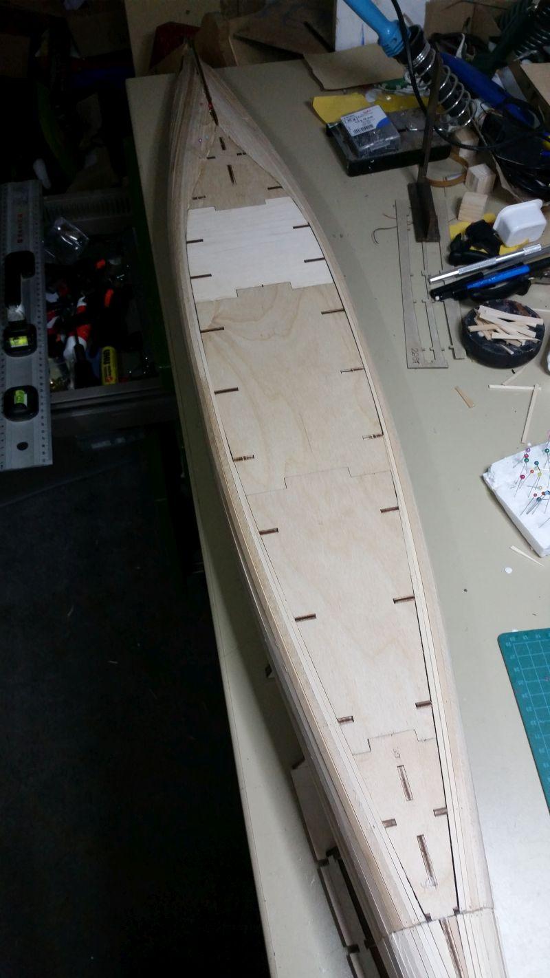 HMS HOOD 1:200 von Hachette gebaut von arrowsmodell - Seite 3 20160627