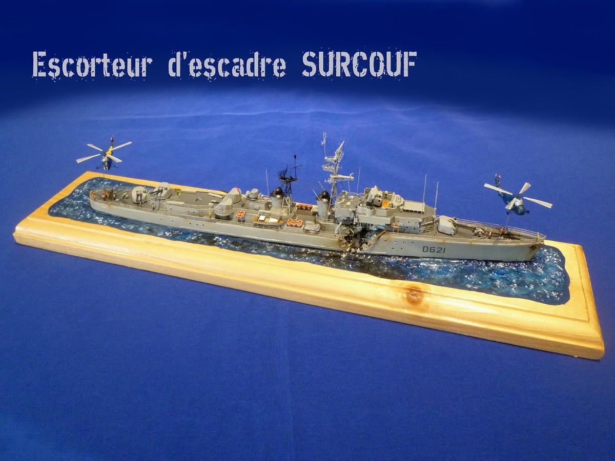 La fin de l'escorteur d'escadre SURCOUF 1/400 Surcou10