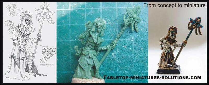 Nouvelles figurines des Dynasties Immortelles sur Indiegogo 13403910