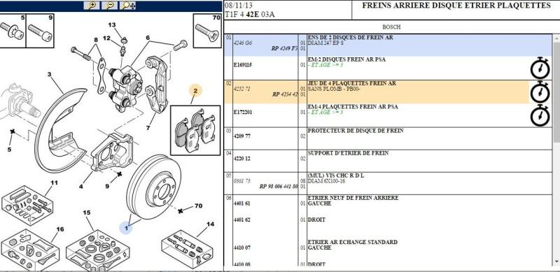 Info disque de frein  3232110