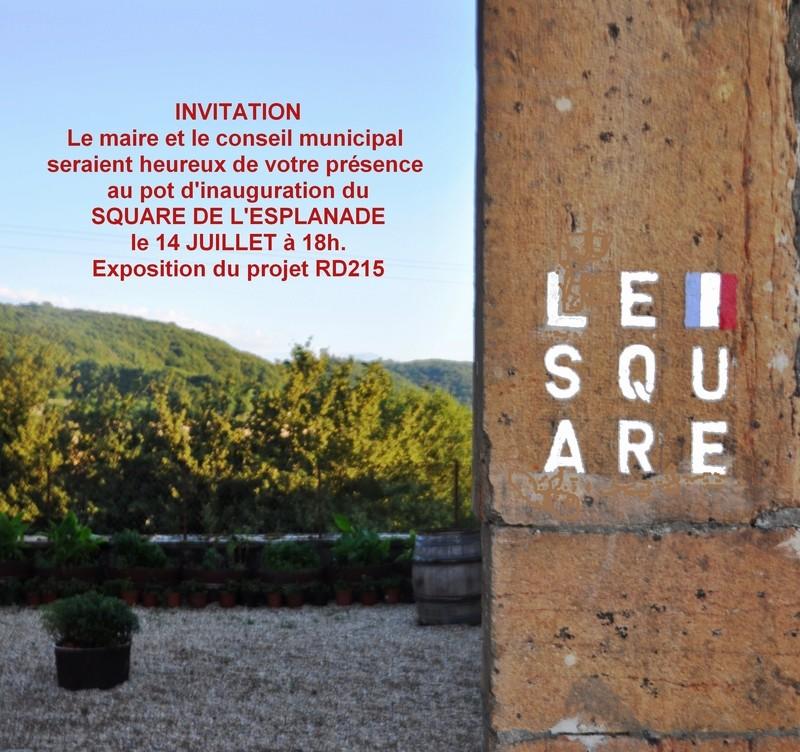 Invitation 14 Juillet 2016 SQUARE DE L'ESPLANADE de COLLONGE Hameau de La Chapelle-sous Brancion Invit_10