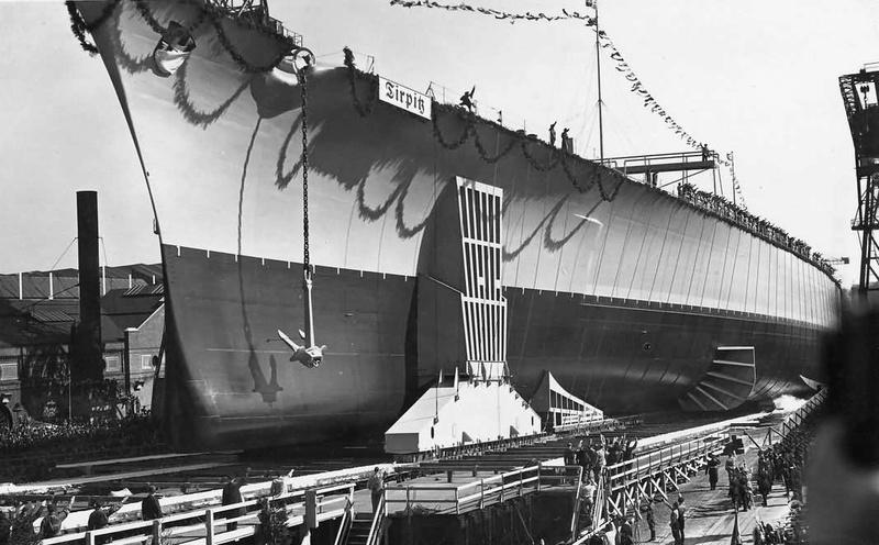 Kriegsmarine - Le Tirpitz Launch10