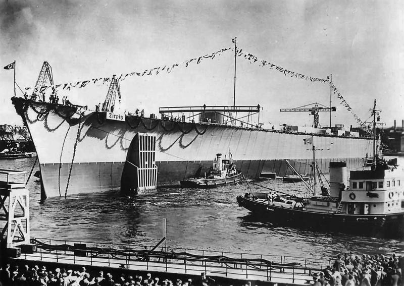 Kriegsmarine - Le Tirpitz Launch12