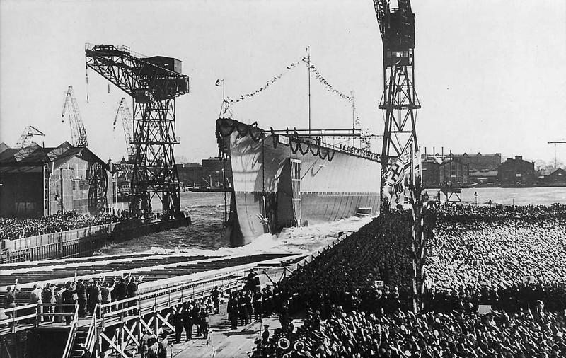 Kriegsmarine - Le Tirpitz Launch13