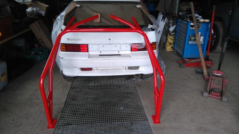 Suzuki Swift GTi Mk2 de 1991 Arceau11