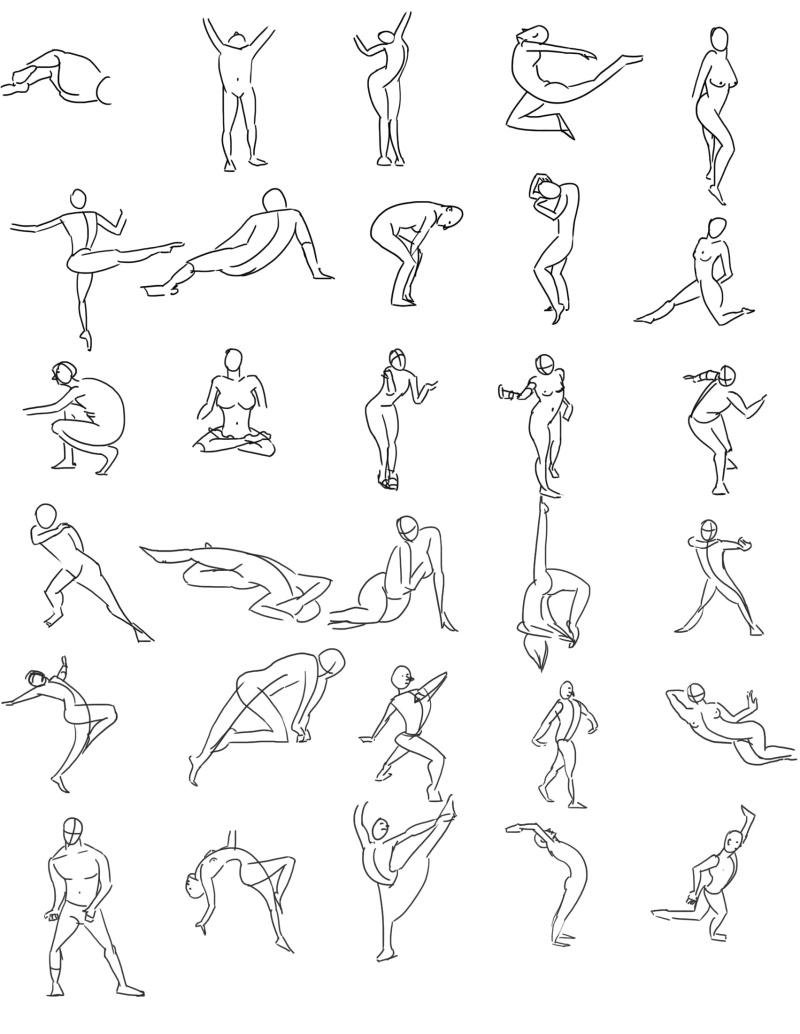 Etudes et croquis de Sofi - Page 4 Gestur13