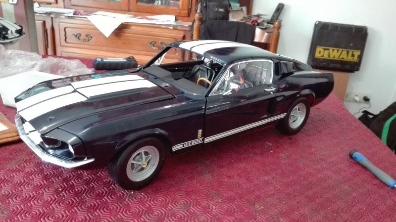 Montage de la Mustang Shelby de chez Altaya Montag11