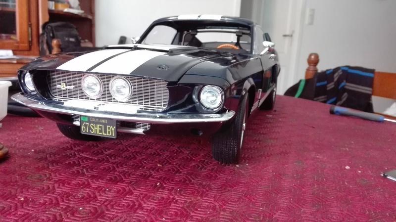 Montage de la Mustang Shelby de chez Altaya Montag12