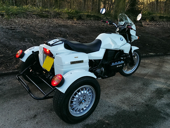 My beautiful BMW K100 Trike 381ss10