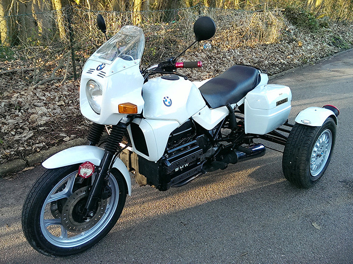 My beautiful BMW K100 Trike 385s10