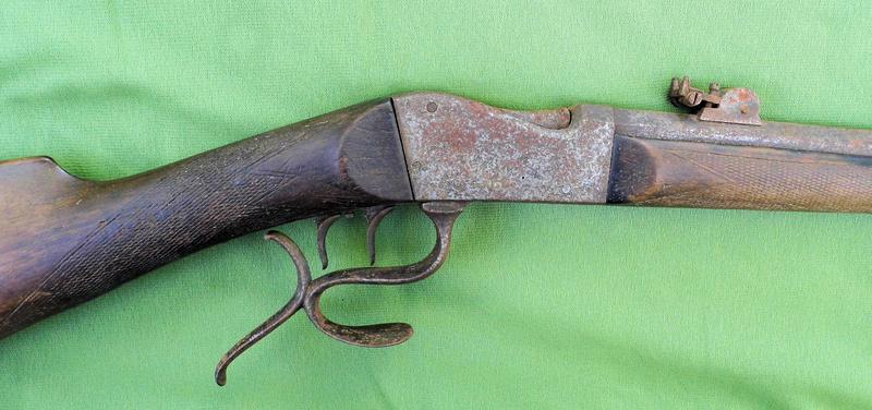Une carabine de tir en 22lr d'origine inconnue, à restaurer. Martin11