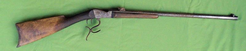 Une carabine de tir en 22lr d'origine inconnue, à restaurer. Martin14