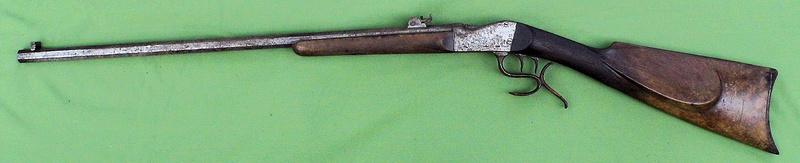 Une carabine de tir en 22lr d'origine inconnue, à restaurer. Martin15