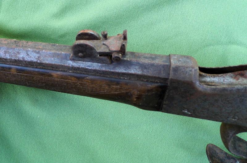 Une carabine de tir en 22lr d'origine inconnue, à restaurer. Martin22