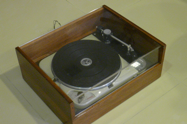 Vintage Thorens TD 124 Turntable with Thorens BTD-12S Tonearm (Used) SOLD P1120233