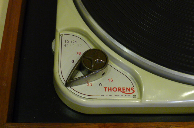 Vintage Thorens TD 124 Turntable with Thorens BTD-12S Tonearm (Used) SOLD P1120235