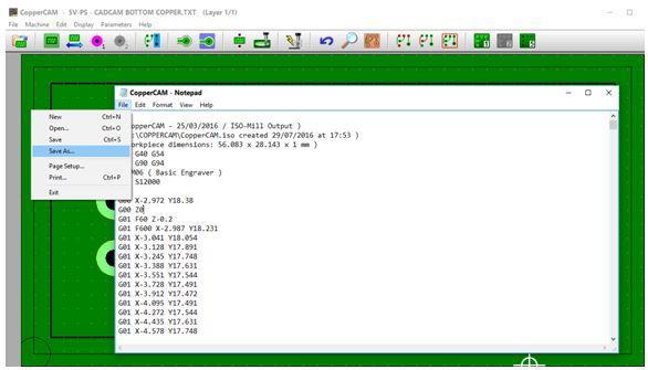 كيفية تحويل وقشط  mill مخطط PCB على ماكينة CNC 1310