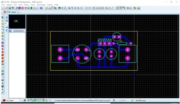 كيفية تحويل وقشط  mill مخطط PCB على ماكينة CNC 210
