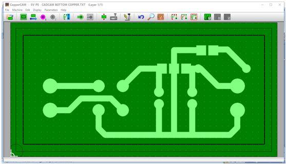 كيفية تحويل وقشط  mill مخطط PCB على ماكينة CNC 311