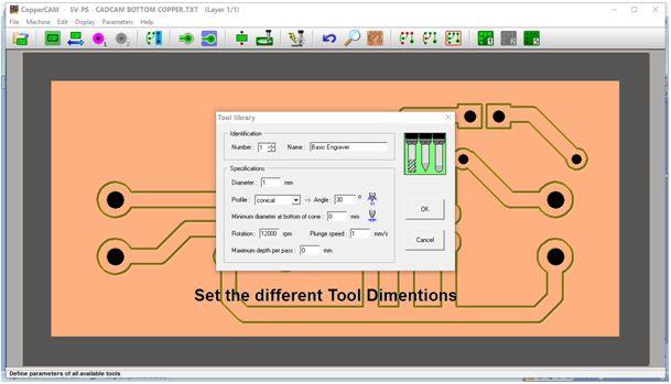 كيفية تحويل وقشط  mill مخطط PCB على ماكينة CNC 910
