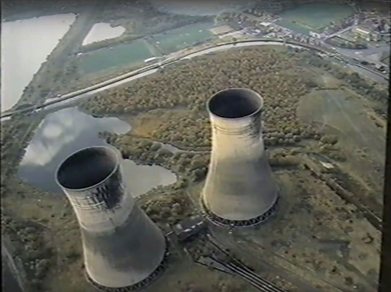 Westwood Cooling towers demolition 1989 Untitl17