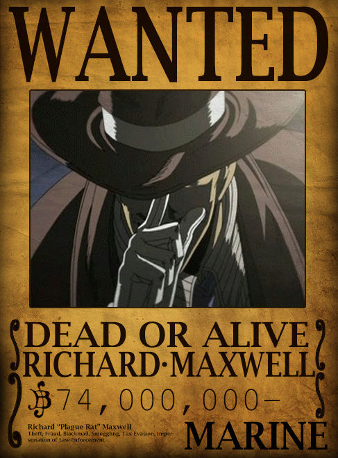 Wanted Poster Drawing Board Richar12